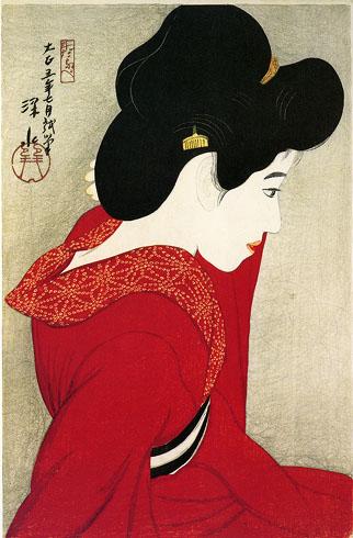 Artmemo estampes japonaises exposition for Derniere volonte devant le miroir